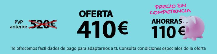 Precio sin competencia - Oferta 410 euros