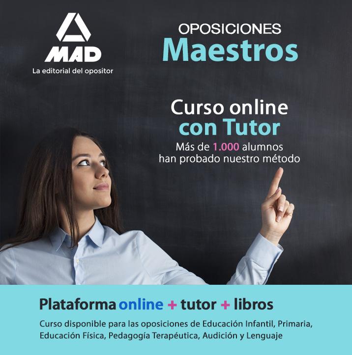 Oposiciones maestros - Curso online con Tutor